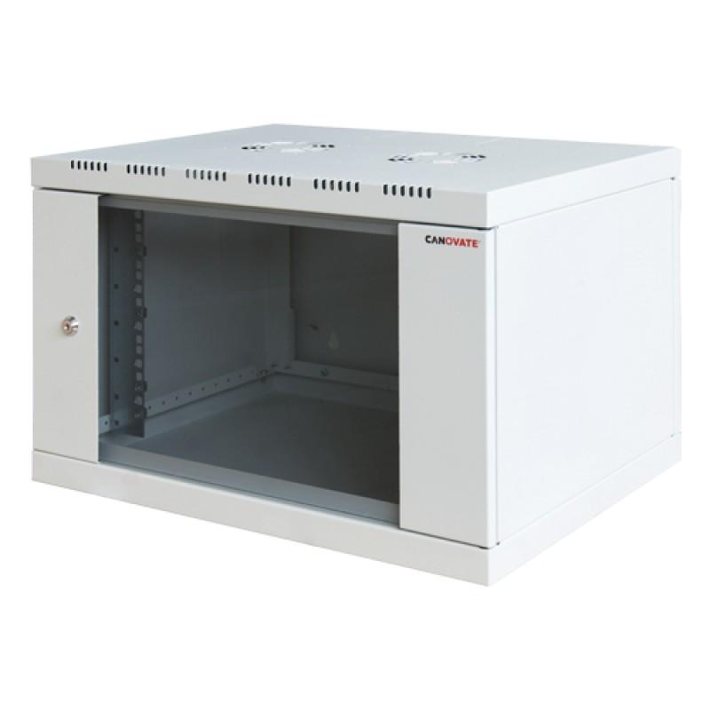 6U 600x400 mm Duvar Tipi Kabinet Yanlar Sabit