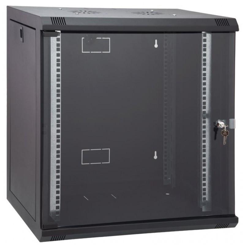12U 600x580 mm Duvar Tipi Kabinet Yan Kapakları Açılabilen