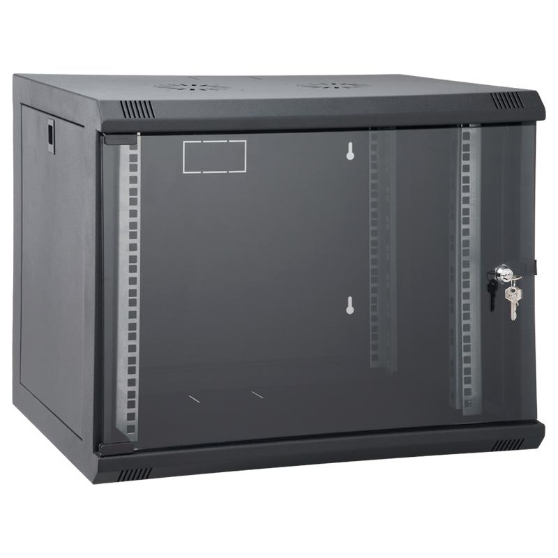 9U 600x450 mm Duvar Tipi Kabinet Yan Kapakları A�...