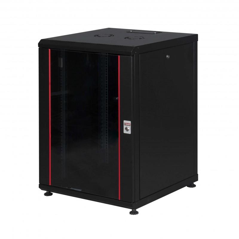 12U W600mm x D600mm Dikili tip Kabinet