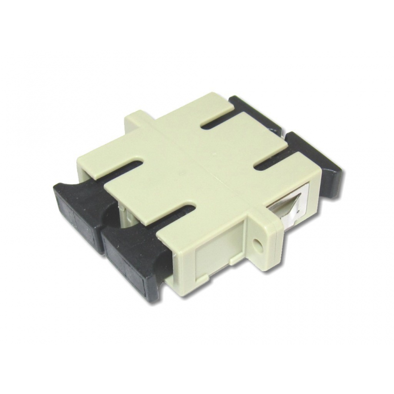 SC Duplex Multi Mode Adaptor
