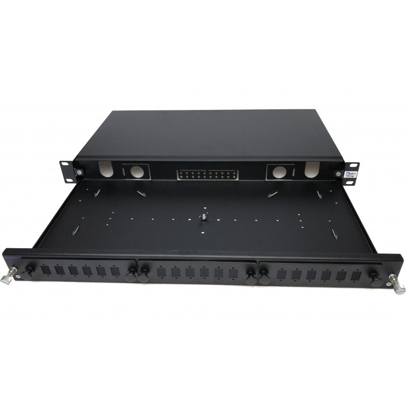 "19"" E2000 Moduler Raysız Fiber Optik Patch Panel"