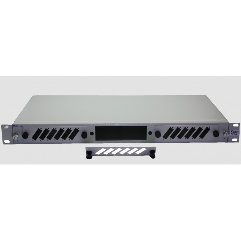 "19"" SC DX Moduler Raysız Fiber Optik Patch Panel"