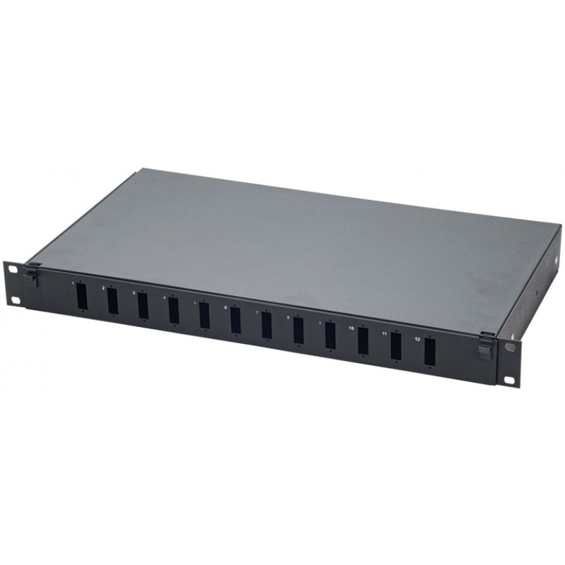 19'' Rack Tipi LC Fiber Optik Patch Panel