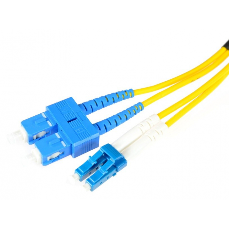 SC/PC-LC/PC Single Mode LSZH Duplex Patchcord-5m