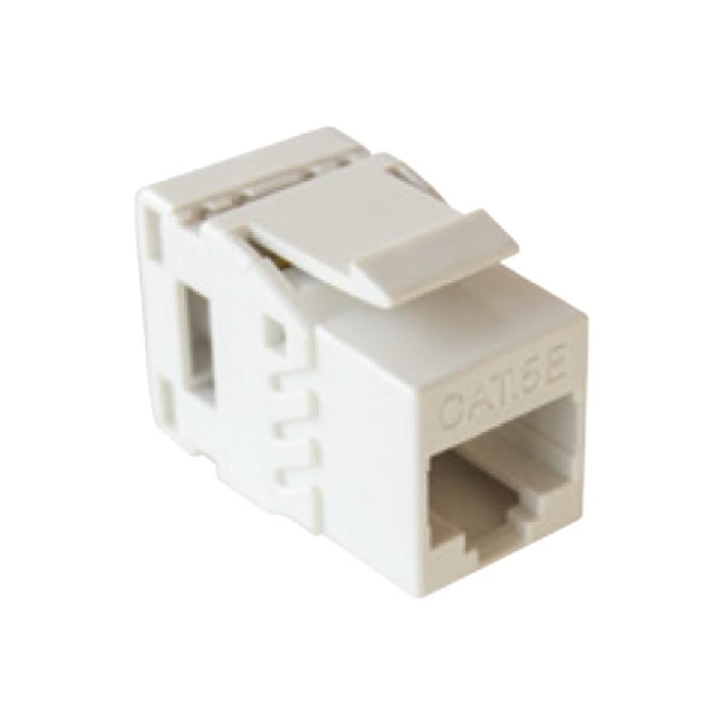 Cat-5e UTP Keystone jack module, (White),180
