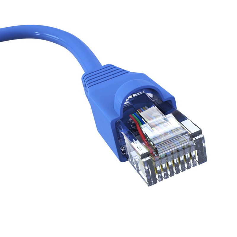 1 metre Cat-6 UTP LSZH Patch Cord