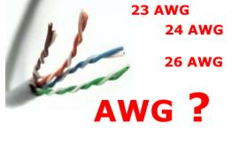23 AWG, 24 AWG ve 26 AWG Ağ Kabloları Arasındaki Fark Nedir?